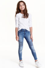 Skinny Fit Biker Jeans - Blu denim - BAMBINO | H&M IT 1