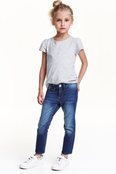 Super Soft Skinny Fit Jeans - Denim blue - Kids | H&M CN 1
