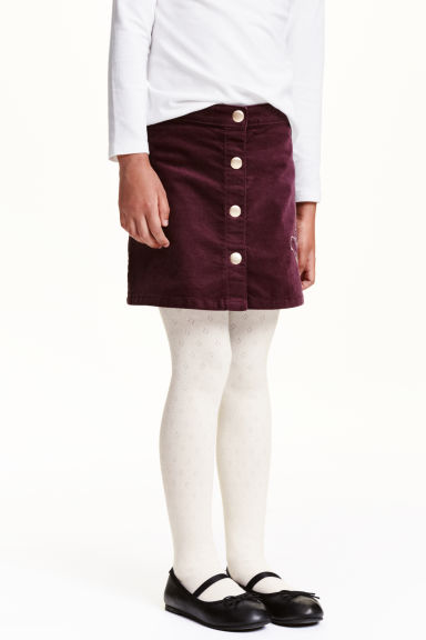 2-pack patterned tights - Dark grey - Kids | H&M CN 1