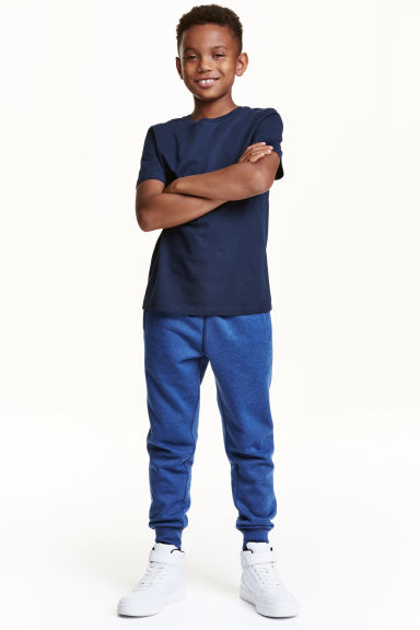 Sweatpants - Blue marl - Kids | H&M CN 1