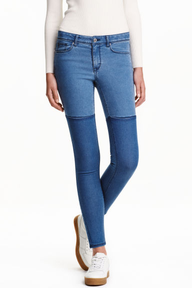 Super Skinny Regular Jeans - Denim blue - Ladies | H&M CA 1