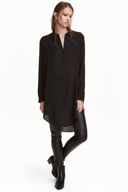 Long-sleeved tunic