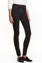 Skinny High Jeans - 黑色 - Ladies | H&M CN 2