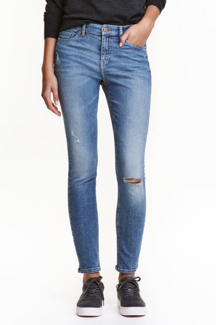 Skinny Regular Trashed Jeans