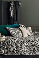 Leopard-print cup - White/Black - Home All | H&M CN 1