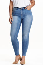 H&M+ Skinny Regular Jeans - Denim blue - Ladies | H&M CN 1