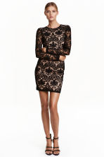 Lace dress - Black -  | H&M CN 1