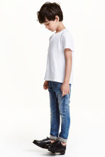 Skinny Fit Lined Jeans - Blu denim - BAMBINO | H&M IT 1
