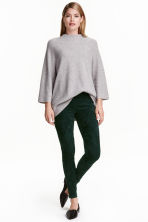 Treggings - Dark green - Ladies | H&M CN 1