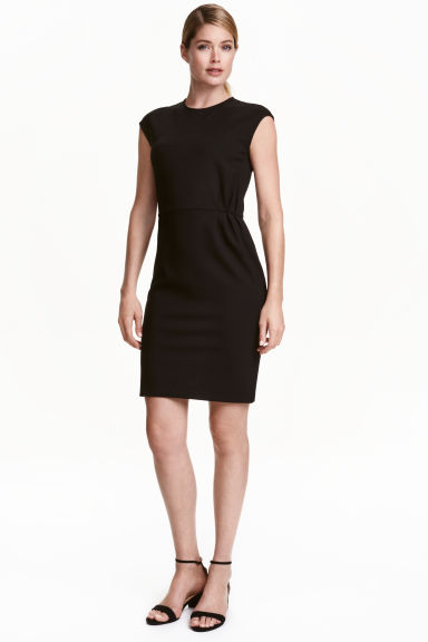 Short dress - Black - Ladies | H&M CN 1