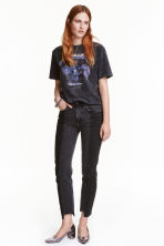Slim Regular Ankle Jeans - Dark grey - Ladies | H&M CN 1