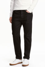 Straight Regular Jeans - Schwarz/No fade black - HERREN | H&M CH 2