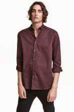 Camicia in cotone Regular fit - Prugna - UOMO | H&M IT 1