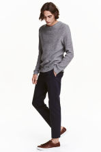 Chinos - Dark blue - Men | H&M CN 1