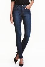 Skinny High Jeans - Dark denim blue - Ladies | H&M CN 2