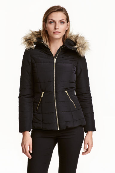 Padded jacket - Black - Ladies | H&M GB