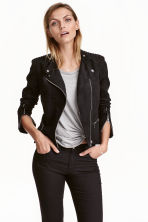 Biker jacket - Black - Ladies | H&M CA 1