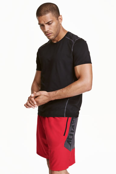 Sports shorts - Red - Men | H&M CN 1