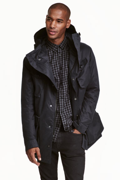 Parka - Nero - UOMO | H&M IT 1