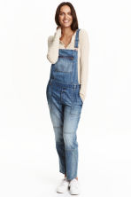 Denim dungarees - Denim blue - Ladies | H&M CN 1