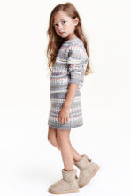 Glittery skirt - Grey/White - Kids | H&M CN 1