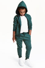 Sweatpants - Dark green marl - Kids | H&M CN 1