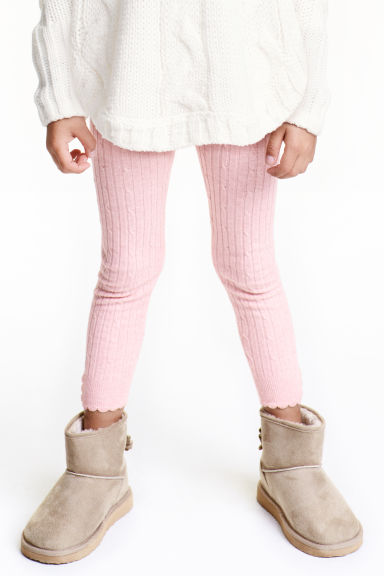 Warm-lined boots - Light beige - Kids | H&M CN 1