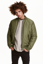 Bomber jacket - Khaki green - Men | H&M GB 1