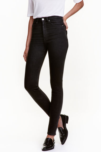 Shaping Skinny High Jeans - Black - Ladies | H&M CN 1