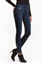 Shaping Skinny Ankle Jeans - 深牛仔蓝 - Ladies | H&M CN 1
