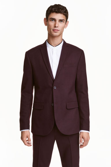 Giacca Slim fit - Prugna - UOMO | H&M IT 1