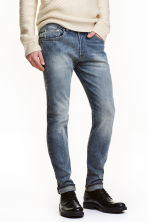 Skinny Low Selvedge Jeans - Denim blue - Men | H&M CN 1