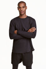 Sports top - Black - Men | H&M CN 1