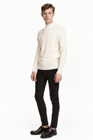 Skinny Regular Jeans - Nero - UOMO | H&M IT 1