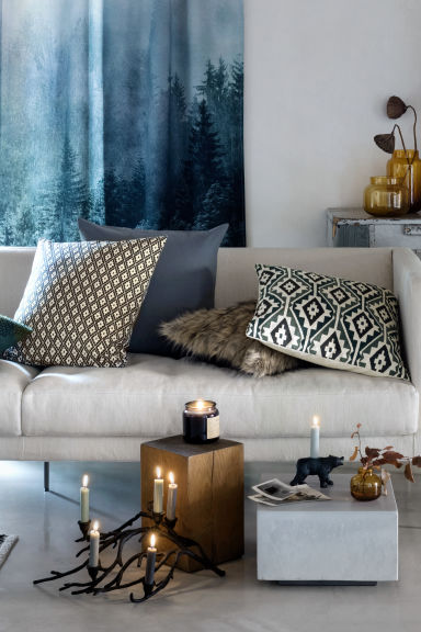 Portacandele in metallo - Nero - HOME | H&M IT 1