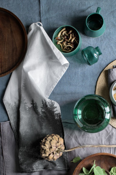 Stoneware mug - Dark green - Home All | H&M 1