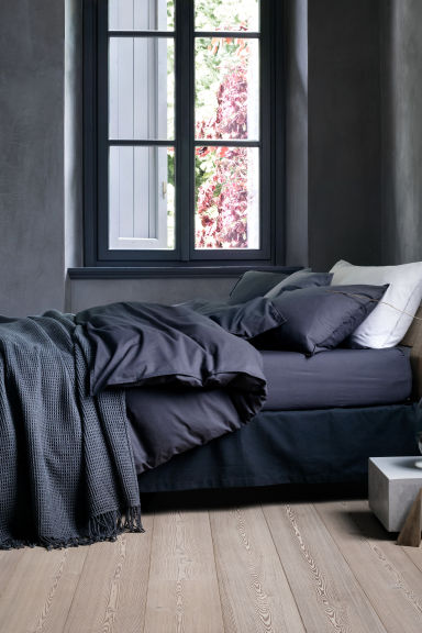 Waffled bedspread - Dark grey - Home All | H&M CA 1