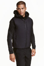 Padded bodywarmer - Black - Men | H&M CN 2