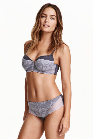 Hipster briefs - Dark grey - Ladies | H&M CN 1