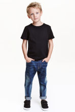 Tapered Jeans - Dark denim blue - Kids | H&M CN 1