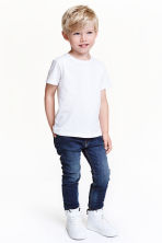 Tapered Lined Jeans - Blu denim scuro - BAMBINO | H&M IT 1