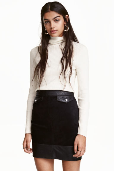 Short skirt - Black - Ladies | H&M CN 1
