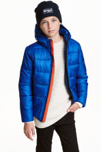 Padded winter jacket - Cornflower blue - Kids | H&M CN 1