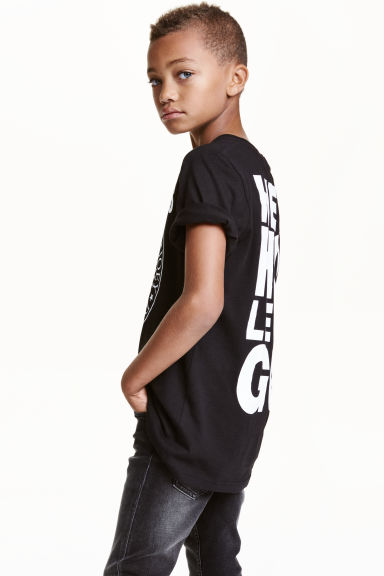 Printed T-shirt - Black/Ramones - Kids | H&M CN 1