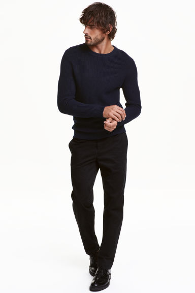 Chinos - Nero - UOMO | H&M IT 1
