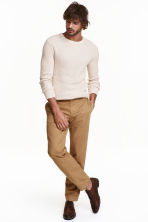 Chinos - Dark beige - Men | H&M CN 1