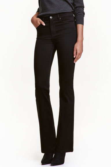 Shaping Boot cut Regular Jeans - Negro - MUJER | H&M ES 1