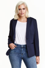 H&M+ Single-breasted jacket - Dark blue -  | H&M CA 2