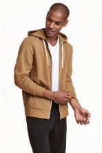 Hooded jacket - Camel - Men | H&M CA 1