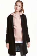 Short coat - Black -  | H&M CN 1